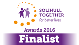 Solihull Together for better lives. Awards 2016 Finalist.
