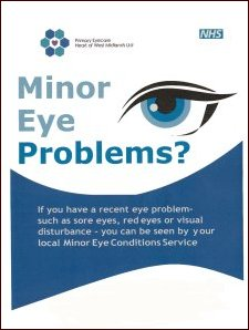 Minor Eye Problems Leaflet